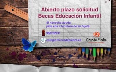 Becas educación infantil
